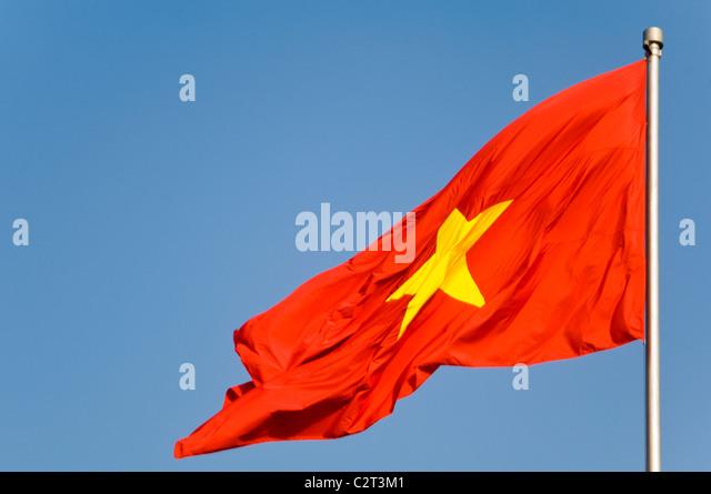 vietnamese star stock photos & vietnamese star stock images - alamy
