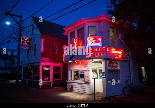 J C Lobster Pot Provincetown Ma Stock ...