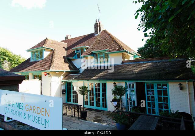 The Pines Garden Tea Room Museum Dover