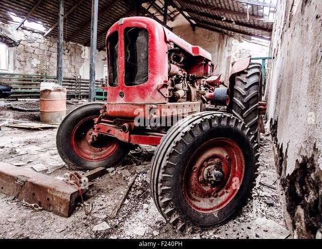 Tractor Broke Down : Tractor old broken down stock photos