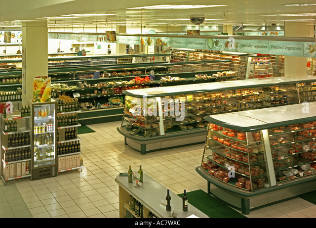 Marks And Spencer Food Stores In Wales