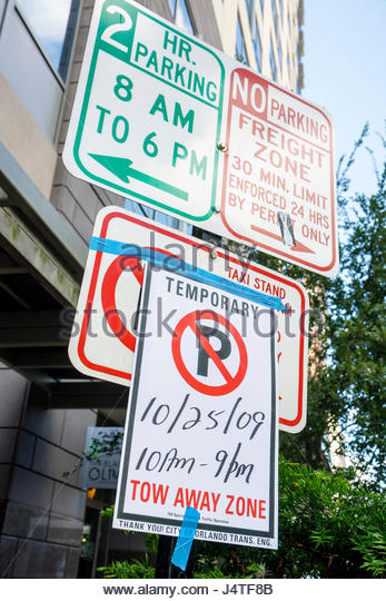 Tow Away Zone Stock Photos Amp Tow Away Zone Stock Images