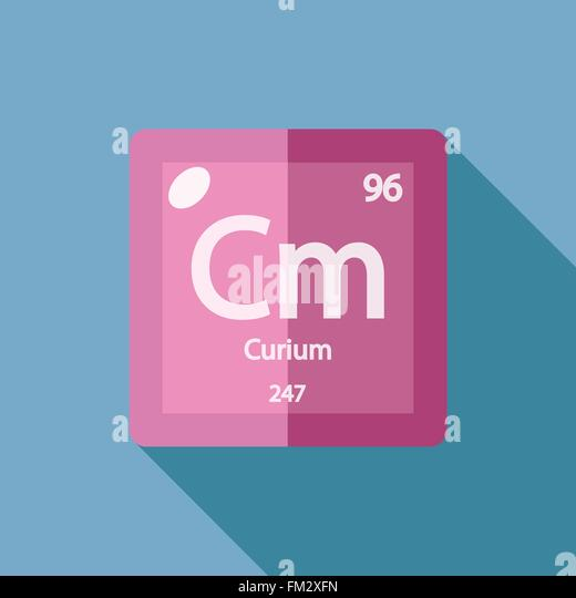 Periodic Table Element Curium Stock Photos & Periodic Table ...