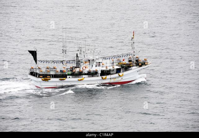 Japan fishing boat stock photos japan fishing boat stock for Japanese fishing boat