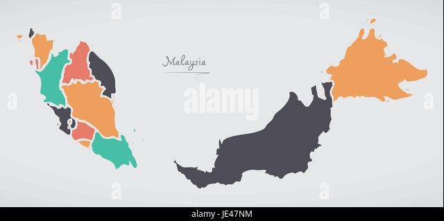 Malaysia Stock Vector Images Page 2 Alamy