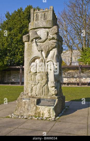 Christchurch priory dorset united stock photos