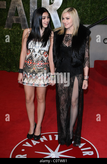 Madonna And Lourdes Leon Stock Photos & Madonna And ...