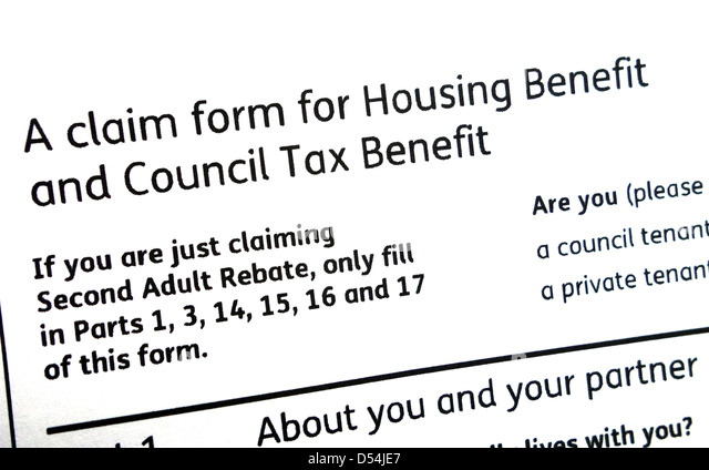 Housing Benefit Stock Photos & Housing Benefit Stock Images - Alamy