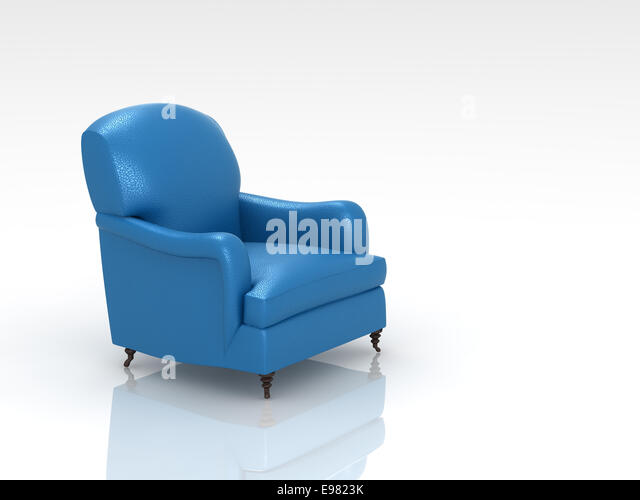 Blue Leather Background Stock Photos Blue Leather