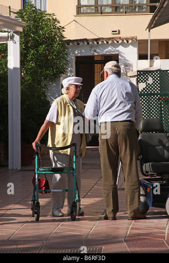 Nice Old Lady With Zimmer Frame Mold - Custom Picture Frame Ideas ...