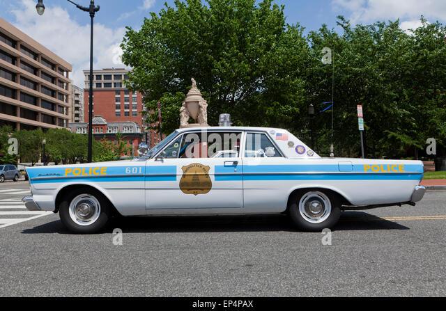 Vintage Police Car Stock Photos Amp Vintage Police Car Stock