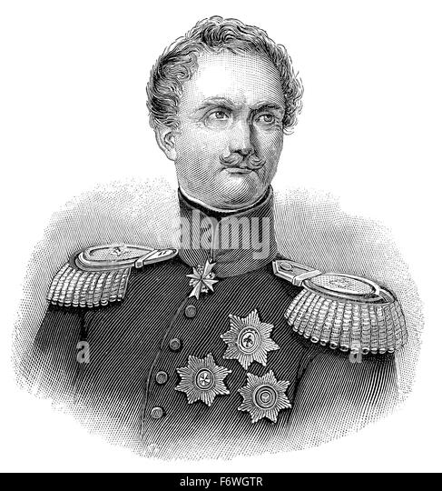 Politician and prussian general stock photos politician for Alexander heinrich