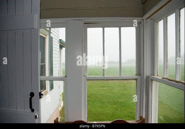 Sun Porch Windows Stock Photos Amp Sun Porch Windows Stock