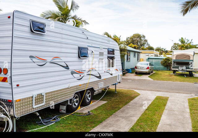 Maroochydore Sunshine Coast Queensland Australia 29th August 2012 Caravans At A