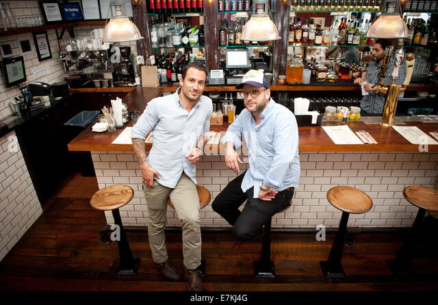 Manhattan New York USA 17th Sep 2014 Meatball Shop Owners MICHAEL