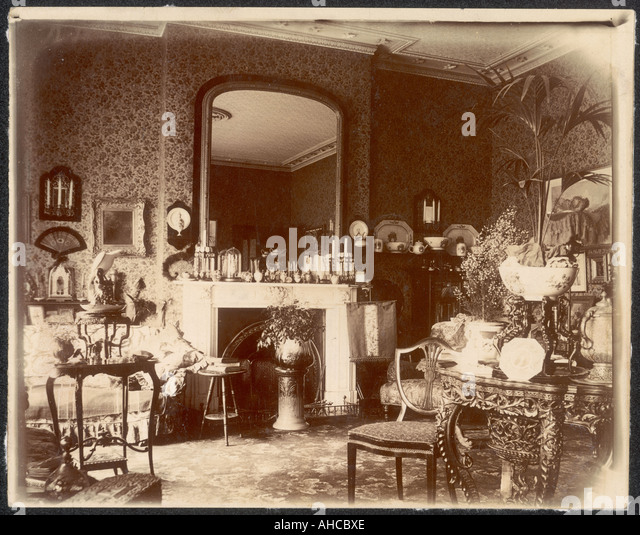 Victorian Living Room   Stock Image