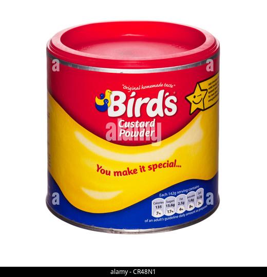 birds custard powder how to make