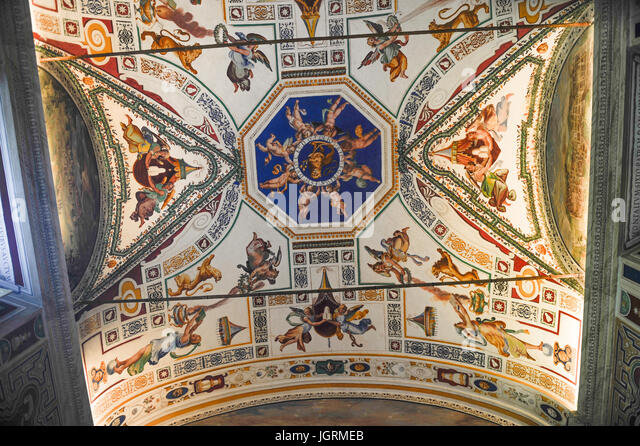 Ceiling gallery maps vatican museums stock photos ceiling gallery maps vatican museums stock - Decoratie corridor ...