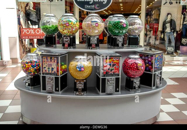 bubble gum machine l