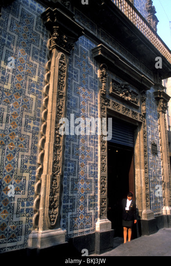 House of tiles mexico city mexico stock photo picture for House of tiles mexico city