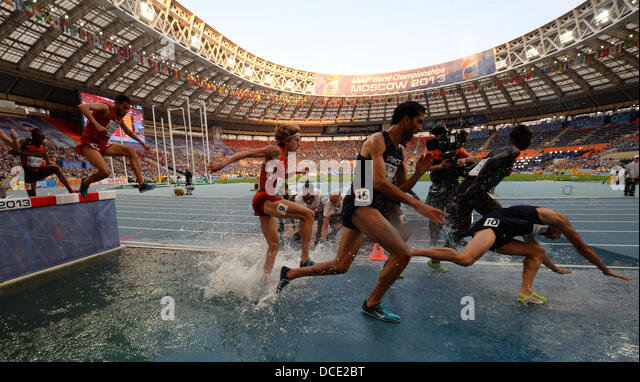 2013 World Championships in Athletics �13 Mens 3000 metres steeplechase