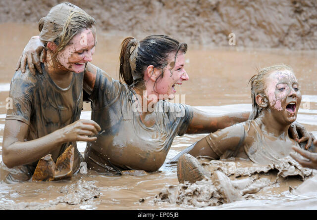 Women Covered In Mud Stock Photos  Women Covered In Mud Stock