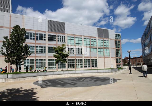 University Of Michigan Modern Architecture   Stock Image