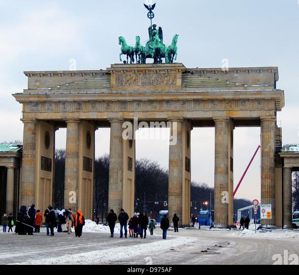brandenburg gate 1989 - photo #6