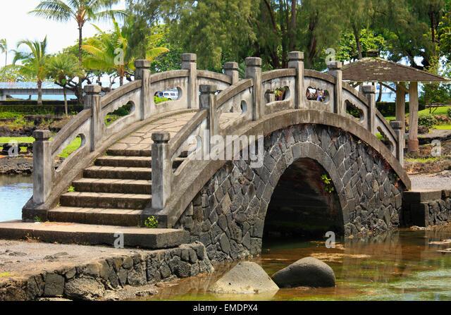 Japanese Garden Bridge Stock Photos Japanese Garden Bridge Stock