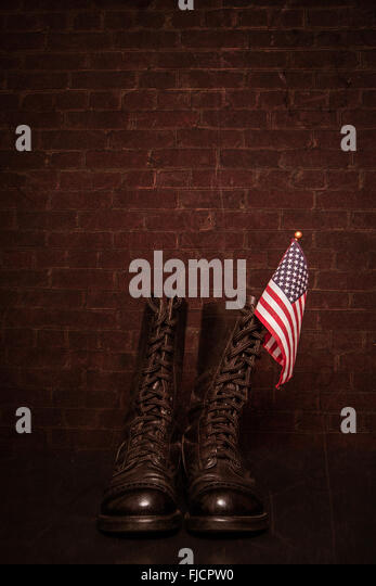 Combat Boots Stock Photos & Combat Boots Stock Images - Alamy