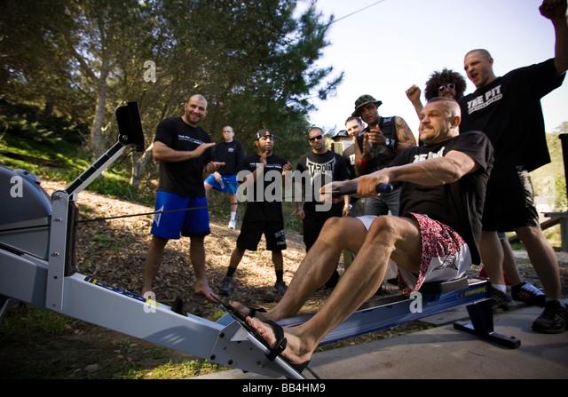 Ultimate fighter chuck liddell nackt trainieren