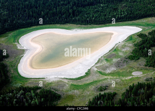 Heart stock photos heart stock images alamy for L shaped lake