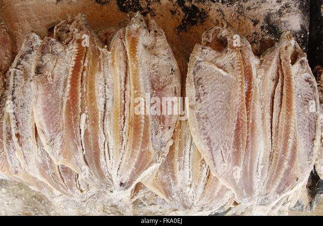 S fish market stock photos s fish market stock images for Dried salted fish