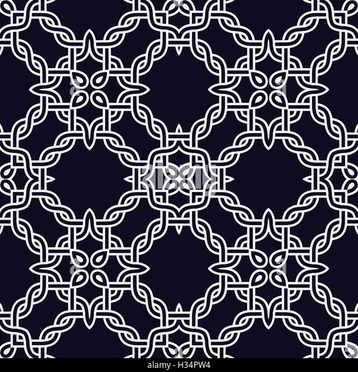 Celtic knot seamless pattern stock photos celtic knot seamless abstract celtic knot seamless pattern vector background template for wallpapers or backdrop stock image pronofoot35fo Image collections