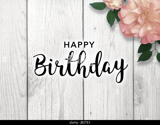 Happy Birthday Typography Cursive ~ Cursive font stock photos & cursive font stock images alamy