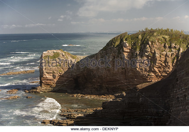 Guethary stock photos guethary stock images alamy for Hendaye france