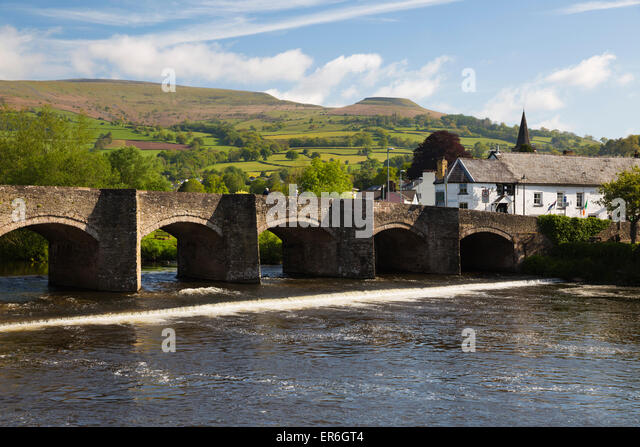 Crickhowell United Kingdom  City new picture : Crickhowell And Hills Stock Photos & Crickhowell And Hills Stock ...