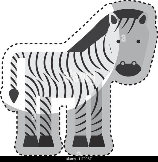 Zebra Character Design : Doddle stock photos images alamy