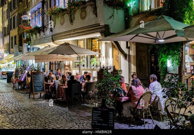 Terrasse Restaurant Strasbourg : Strasbourg Cafe Terrace Stock Photos u0026 Strasbourg Cafe