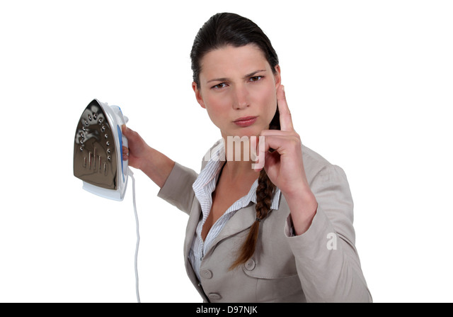 Woman Ironing Suit Stock Photos & Woman Ironing Suit Stock Images ...