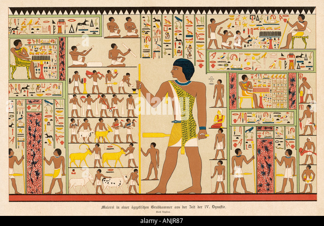 Ancient egyptian tomb drawings images for Egyptian mural paintings