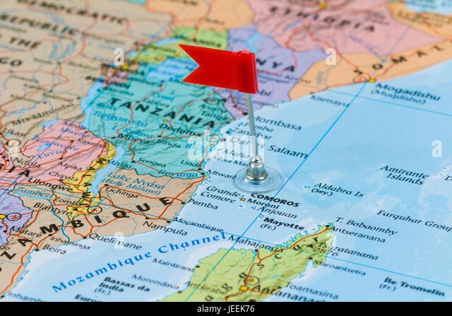 Comoros Island Stock Photos Comoros Island Stock Images Alamy - Comoros map