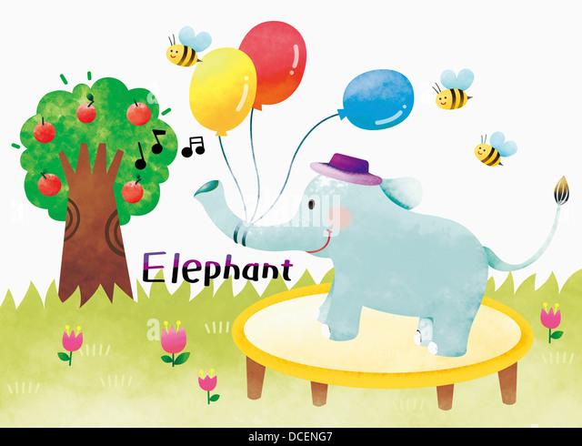 Tied Elephant Stock Photos & Tied Elephant Stock Images - Alamy