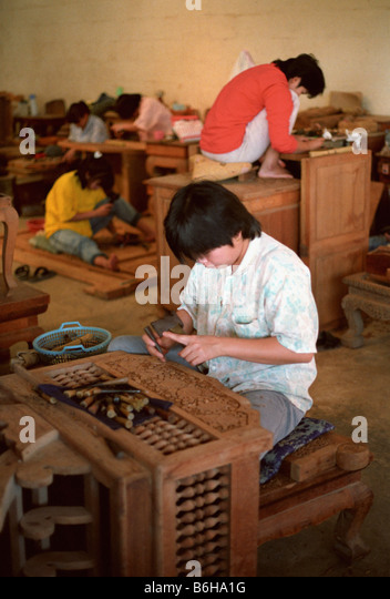 Wood furniture factory in chiang mai province in northern for T furniture chiang mai