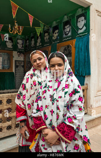 Iranian girls stock photos iranian girls stock images alamy street scene with iranian girls in traditional dress abyaneh a zoroastrian town iran stock image publicscrutiny Image collections