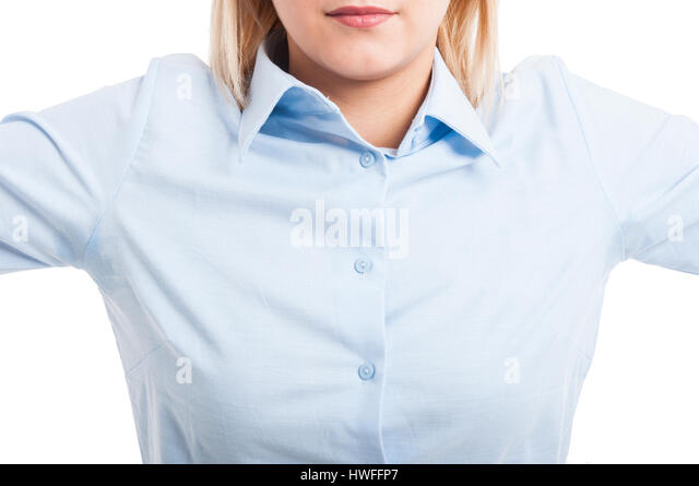 Armpit sweat stock photos armpit sweat stock images alamy for How to remove sweat stains from black shirts