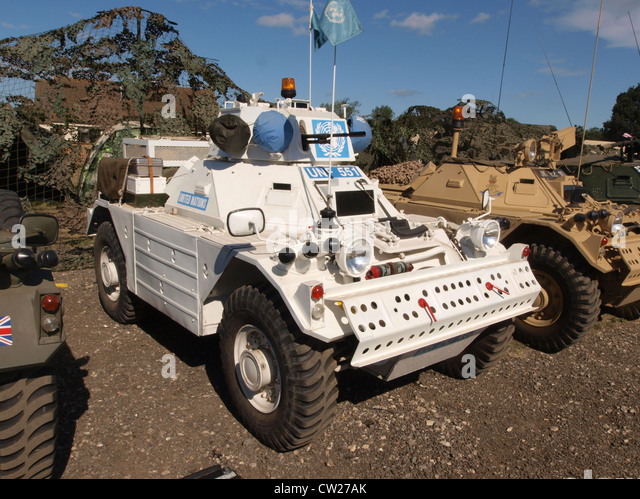 Terrorism united nations and armored car