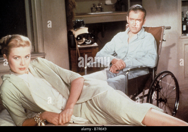 Handicappe stock photos handicappe stock images alamy for Grace kelly fenetre sur cour