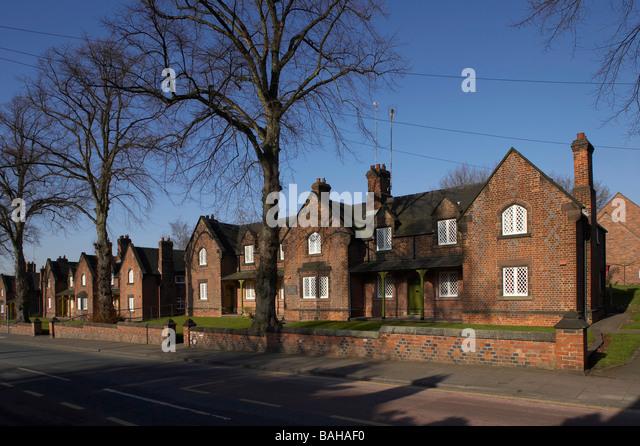 Sandbach Almshouses United Kingdom George Gilbert Scott Overall View