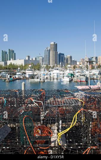 Sea port village san diego stock photos sea port village for Lobster fishing san diego